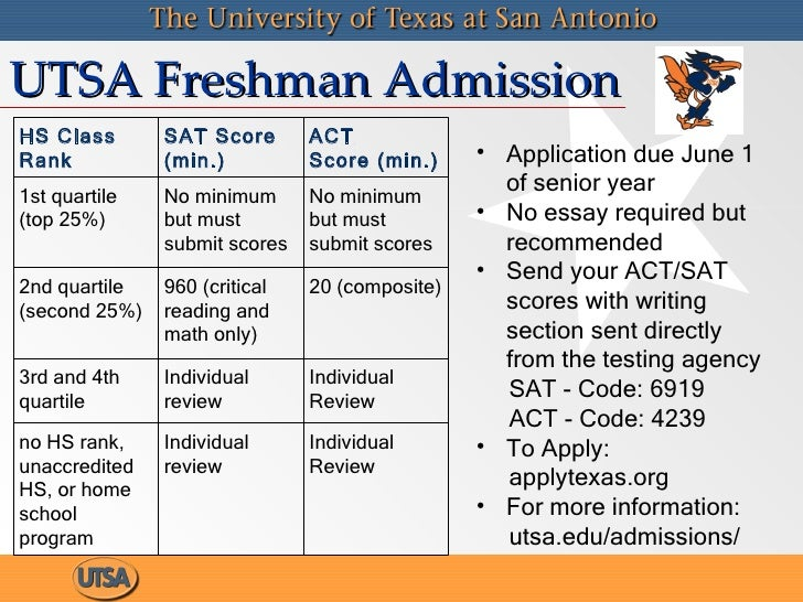 ut san antonio application essay Explore key university of texas at san antonio information including application requirements, popular majors, tuition, sat scores, ap credit policies, and more.