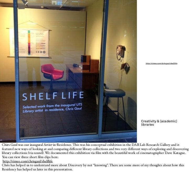 http://vimeo.com/chrisgaul/shelflife                                                                                      ...