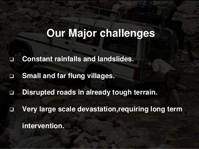 Uttarakhand  a comprehsive report (2013-2015) Slide 3