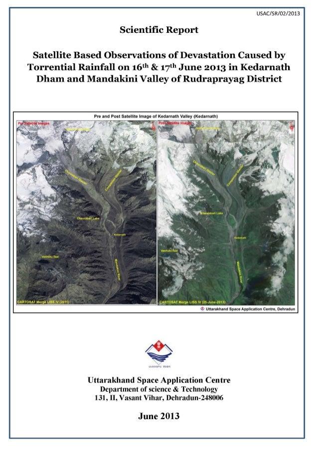 Uttarakhand disasterreport usac