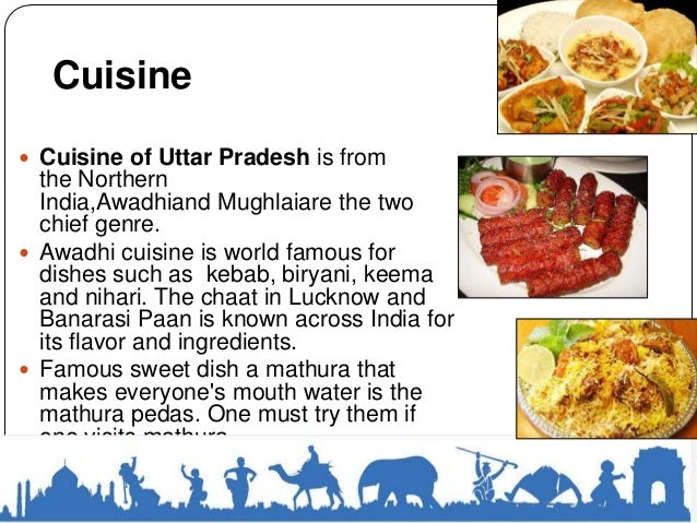 Uttar pradesh for Cuisines of uttar pradesh