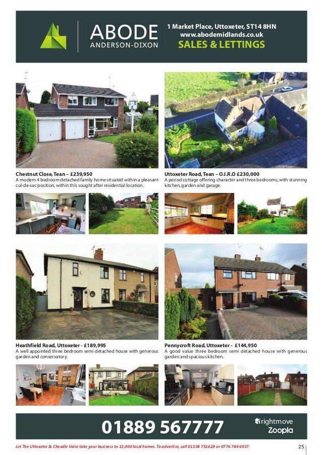 Uttoxeter & Cheadle Voice issue 61 on