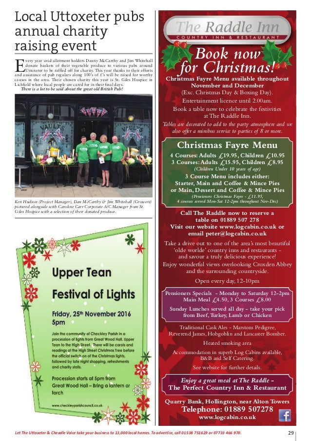 Uttoxeter & Cheadle Voice, Issue 68