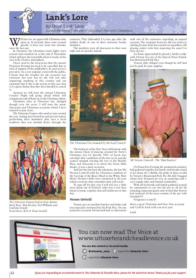 Uttoxeter Cheadle Voice Issue 69