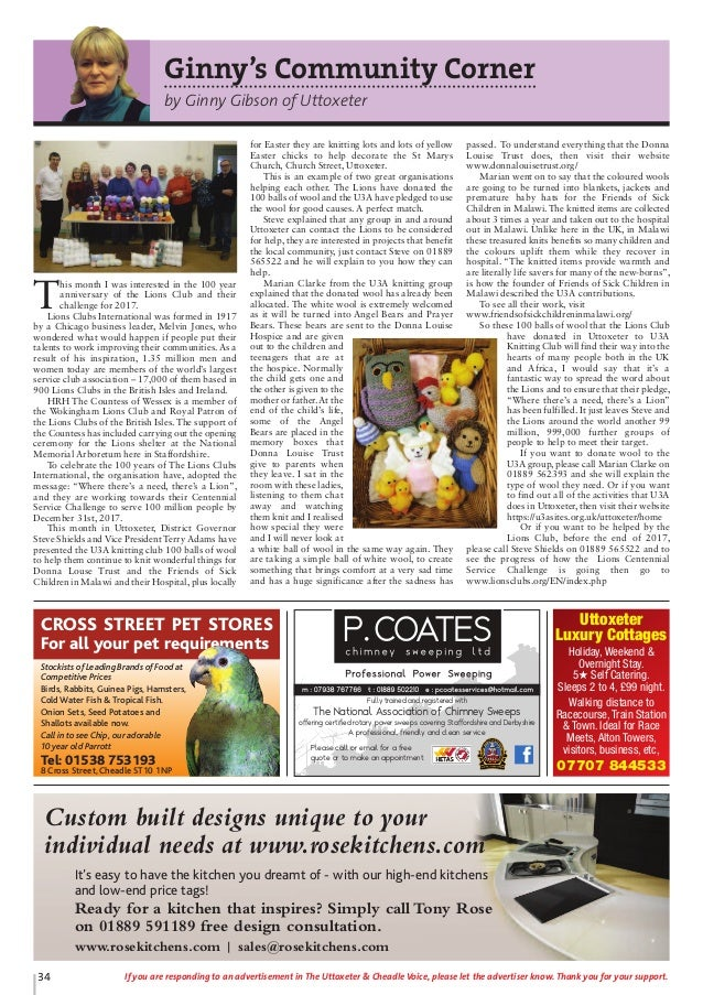 Uttoxeter And Cheadle Voice Issue 71
