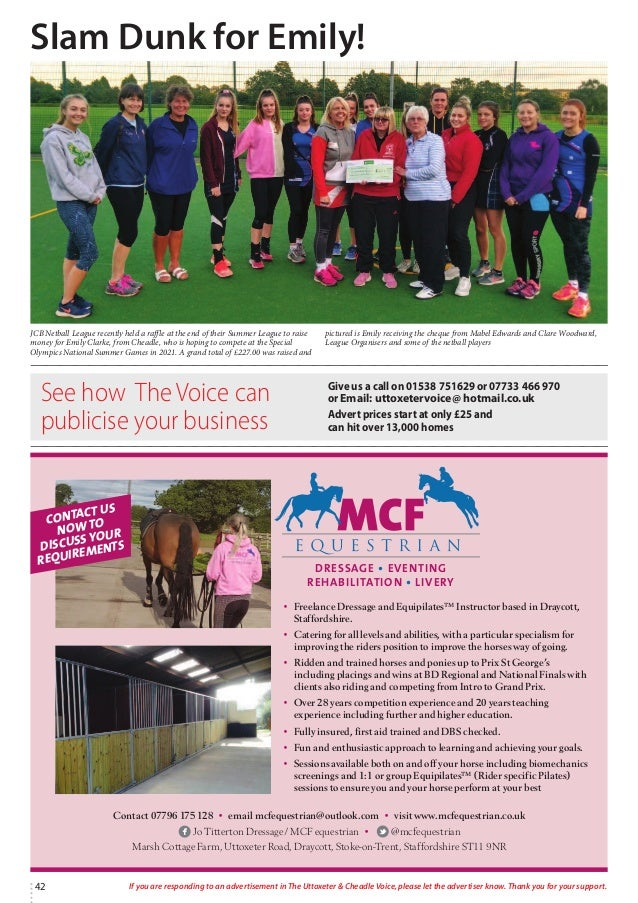 Uttoxeter & Cheadle Voice, Issue 95