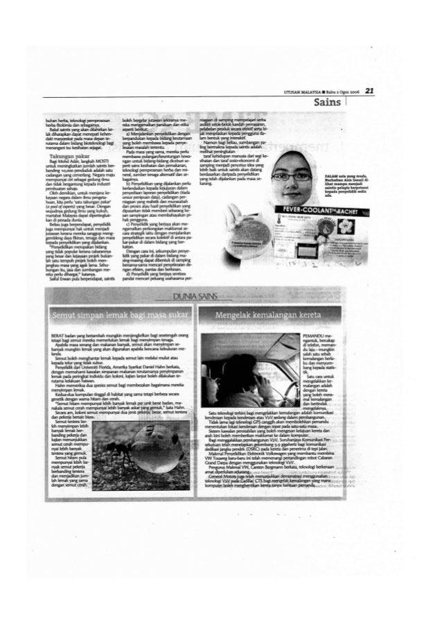 Utusan Malaysia Saintis Muda 2006 Part 2