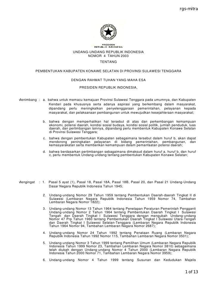 rgs-mitra                                      UNDANG-UNDANG REPUBLIK INDONESIA                                        NOM...