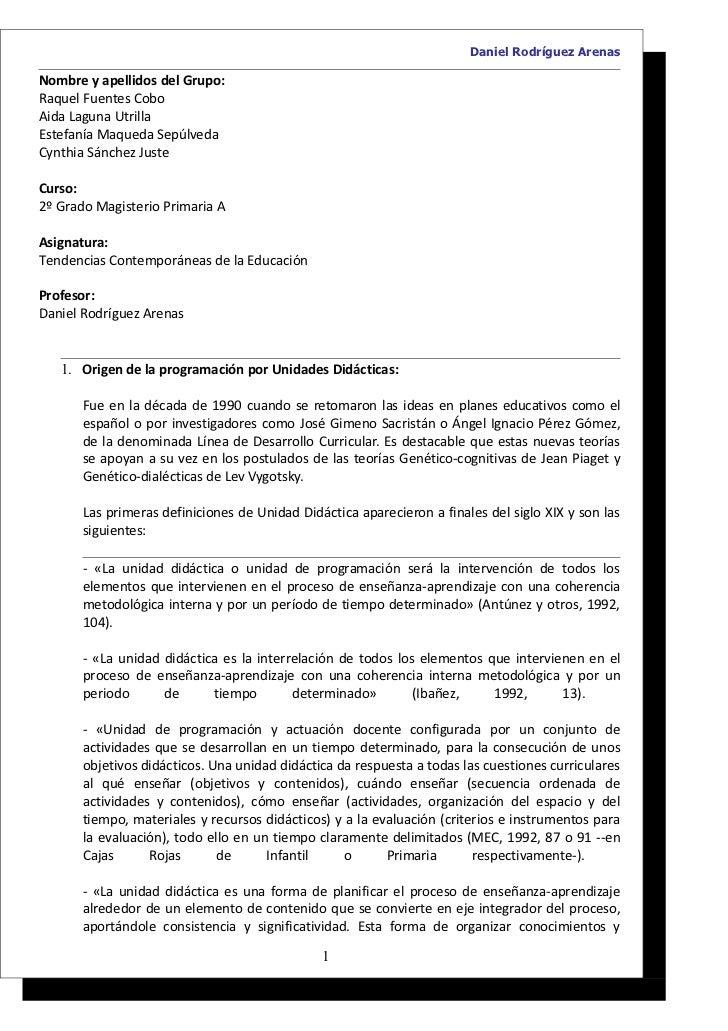 Daniel Rodríguez ArenasNombre y apellidos del Grupo:Raquel Fuentes CoboAida Laguna UtrillaEstefanía Maqueda SepúlvedaCynth...