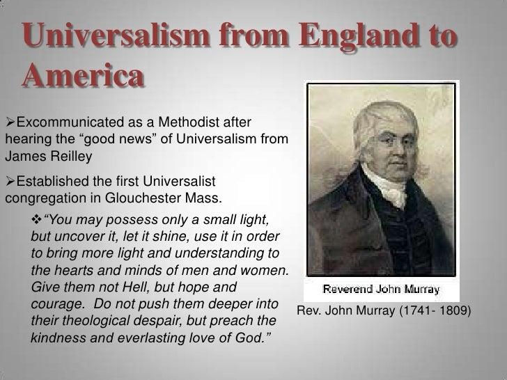 John Murray Universalist