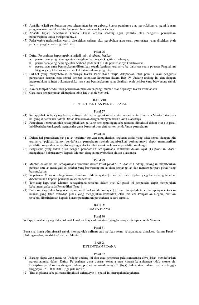 Kewajiban pendaftaran ulang SIUP resmi dihapus