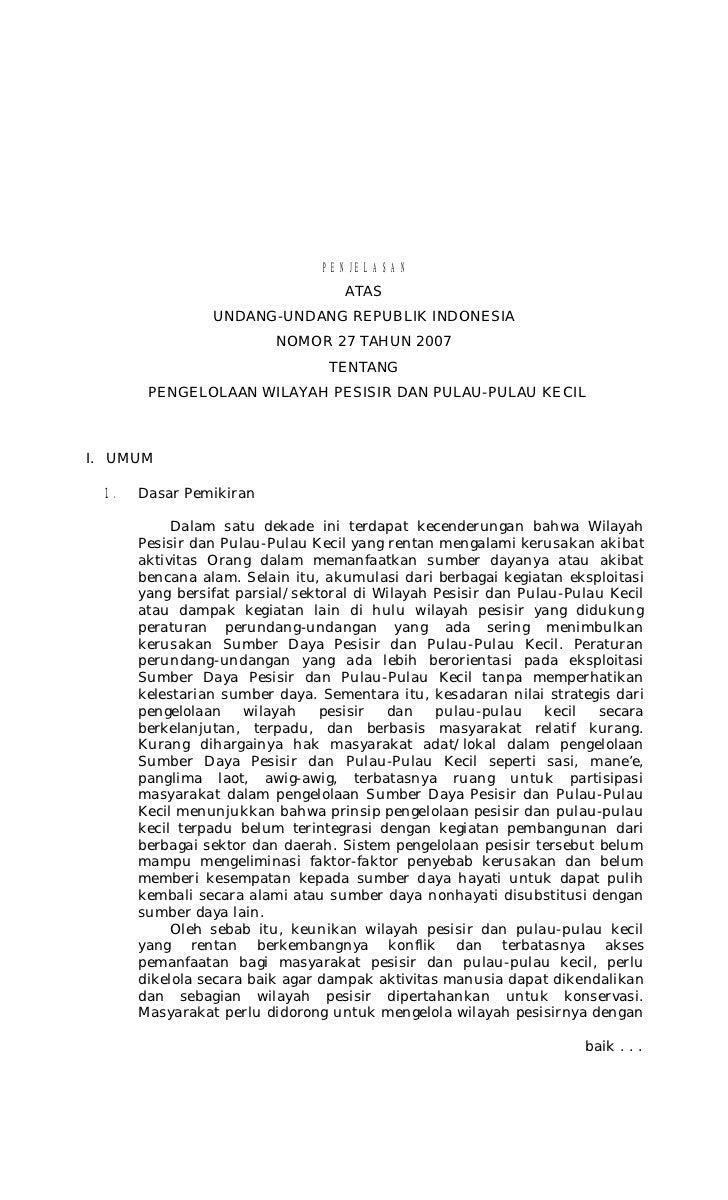 PENJELASAN                                    ATAS                 UNDANG-UNDANG REPUBLIK INDONESIA                       ...