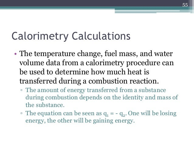 thermochemistry an ice calorimeter determination of reaction enthalpy essay Enthalpy of neutralization calculate the heat absorbed or released by the reaction heat, q tap water and dry the calorimeter with a paper towel.