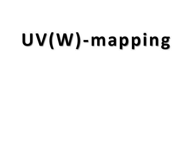 UV(W)-mapping