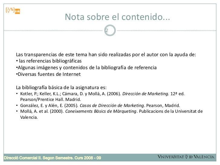 Comunicación marketing integrada Slide 2