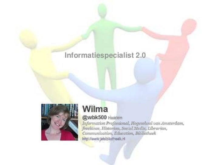 Informatiespecialist 2.0<br />