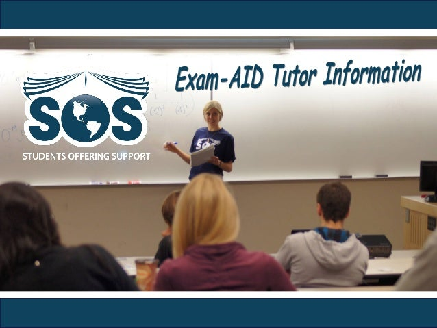 "Exam-WHAT? • First, you should know that we call our review sessions                        ""Exam-AIDs""• Thus, you are an ..."