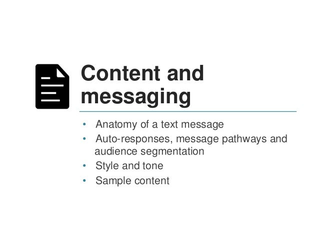Best Practices Credibility - Students need to recognize and trust texting source – Initial text is critical to establishin...