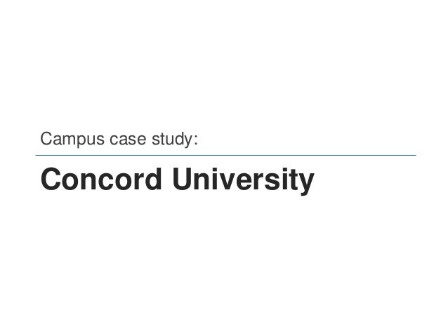 Concord University • Rural, regional public institution in southern WV • ~2,900 enrollment (5-year average) • 40% first-ge...