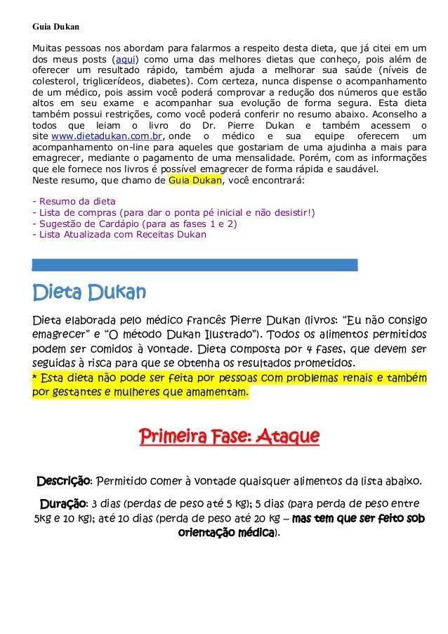 Guia Dukan