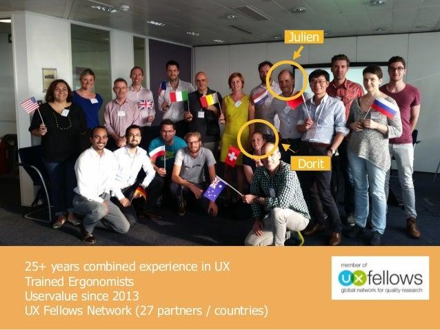 Optimiser l'expérience utilisateur, Swiss Tech Talk Slide 2