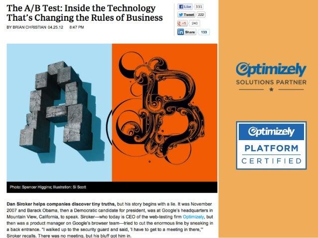 Optimiser l'expérience utilisateur, Swiss Tech Talk Slide 3