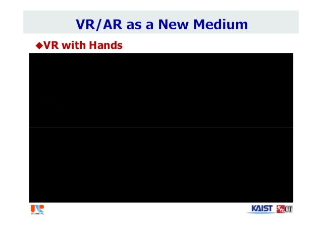 VR with Hands