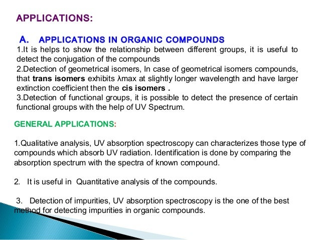 3.Improve selectivity of assay 4. Determination of composition of complex Mole ratio method Continuous variation method (...