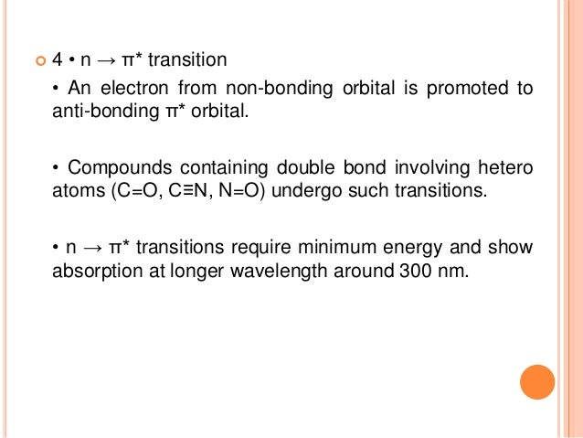• When absorption maxima (λmax) of a compound shifts to longer wavelength, it is known as bathochromic shift or red shift....