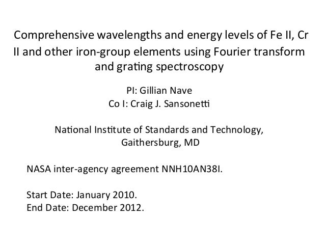 Comprehensive wavelengths and energy levels of Fe II, Cr II and other iron-group elements using Fourier transform and grat...