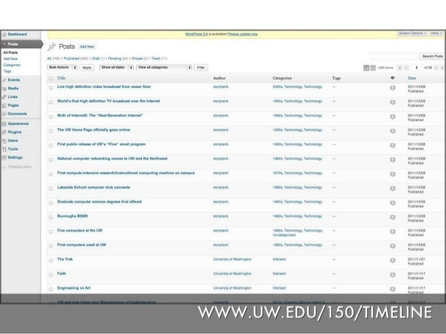 UW + WordPress: How I Learned to Stop Worrying and Love the CMS