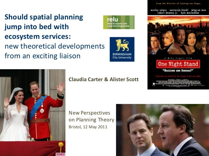 Should spatial planningjump into bed withecosystem services:new theoretical developmentsfrom an exciting liaison          ...