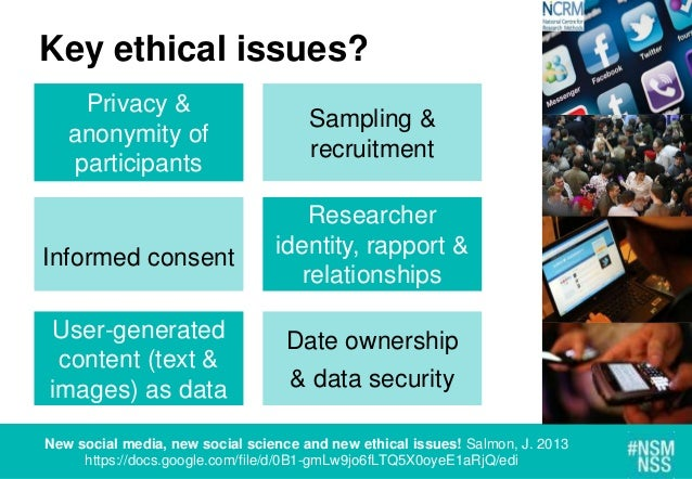 ethical boundaries of using internet at Researchers should be guided by the core requirement for the 'application of  technical competence and the  key ethical issues in internet mediated  research.