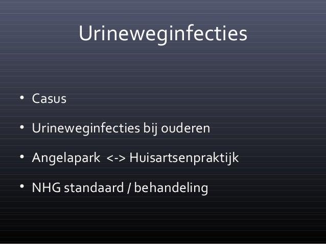 symptomen urineweginfectie bij ouderen