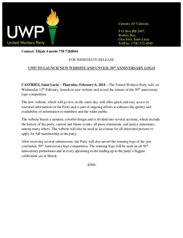 Uwp to launch new website and unveil logo