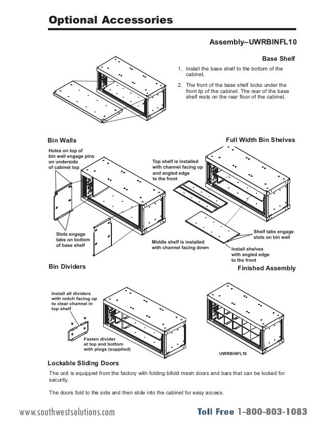 UWR Weapon Racks Installation Instructions