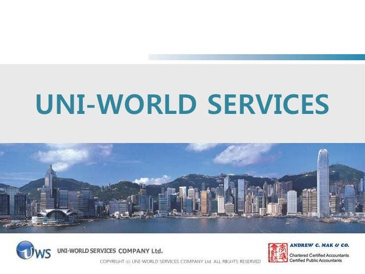 UNI-WORLD SERVICES<br />