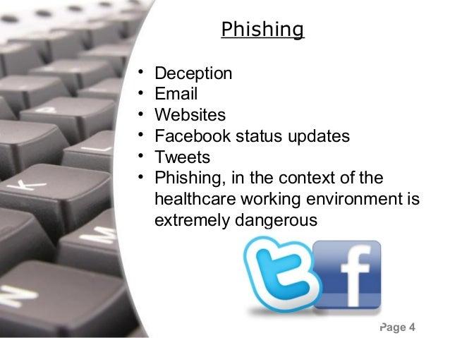 UW School of Medicine Social Engineering and Phishing Awareness