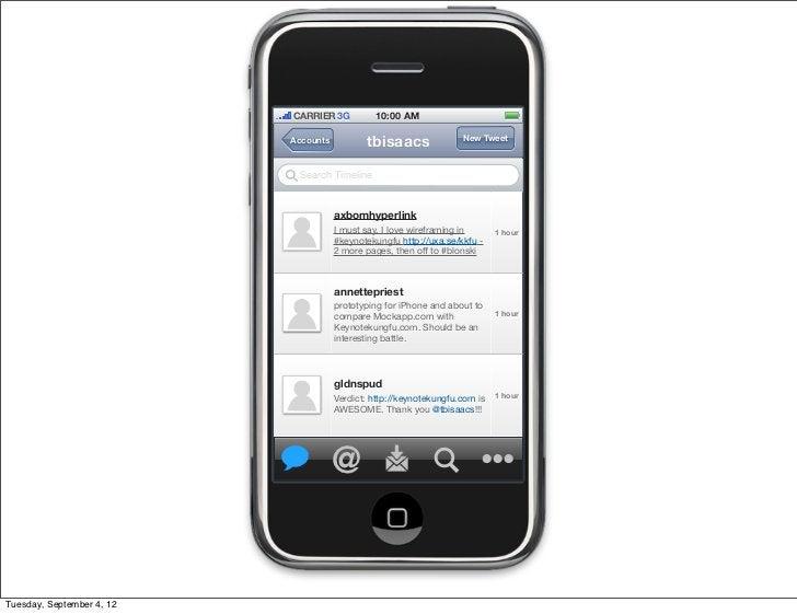 CARRIER 3G          10:00 AM                           Accounts          tbisaacs               New Tweet                 ...