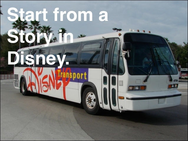 Start from a Story in! Disney.