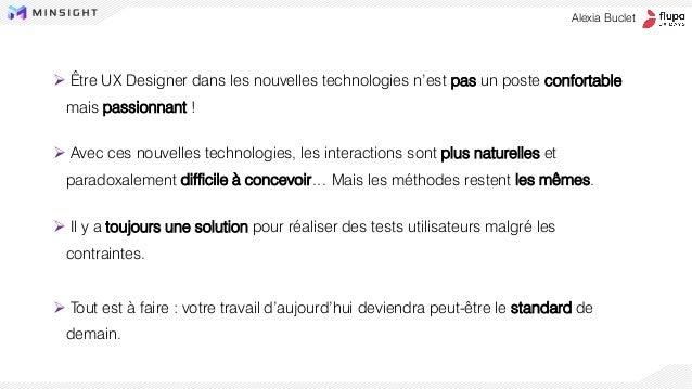 ➢ Être UX Designer dans les nouvelles technologies n'est pas un poste confortable mais passionnant ! ➢ Avec ces nouvelles ...