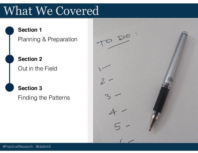 UX Field Research Basics