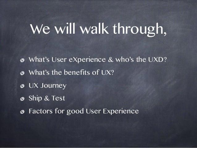 UX In Action Slide 2