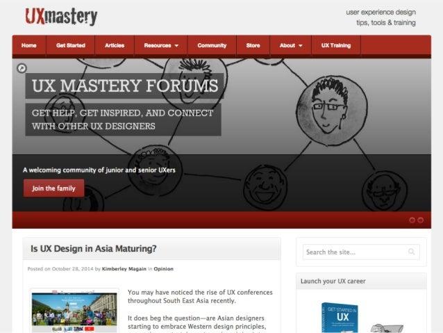Get educated.  uxmastery.com/training  uxmastery.com/cbdoeougorkseses
