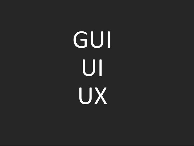 UX UX (User Experience), or the experience of interaction - It is a term used to describe the degree of user satisfaction ...