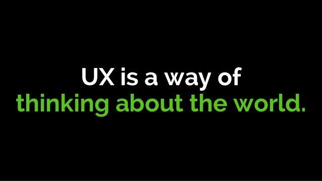 UX-Driven Innovation