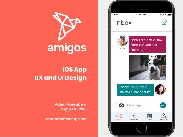 Ux Ui Design Case Study Amigos Ios App Student Project At Ironhack