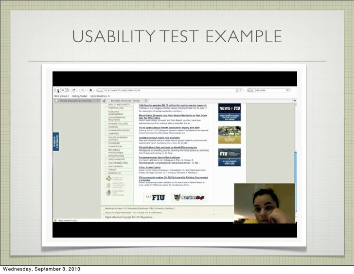 Web Design Client Needs Analysis Example