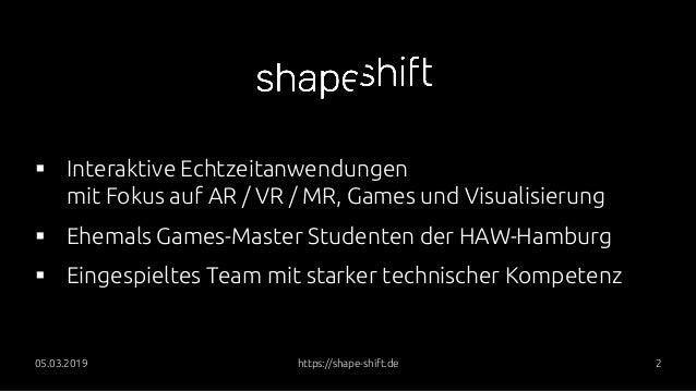 VR/AR Experience - Speicherstadt Digital und William Lindley Slide 3