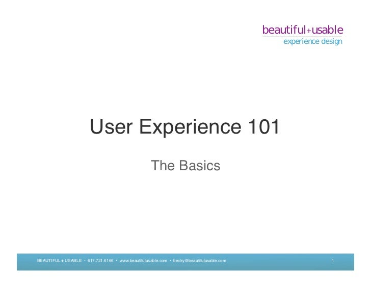 beautiful+usable                                                                                              experience d...